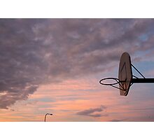 Sky Hoop Photographic Print