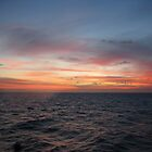 Restless Sunset - somewhere above the Great Barrier Reef by marklow