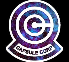 Galaxy Capsule Corp Logo by ZipZapAttack