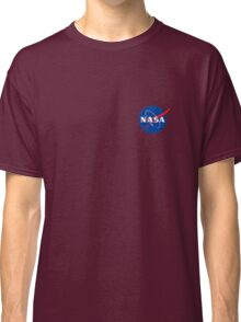 Nasa logo at the chest Classic T-Shirt