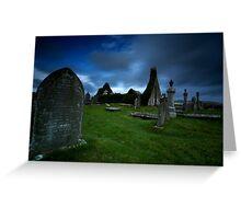 The ruins of Balnakeil Church Greeting Card