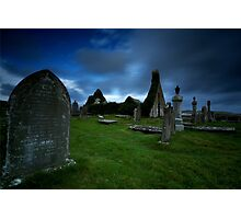 The ruins of Balnakeil Church Photographic Print