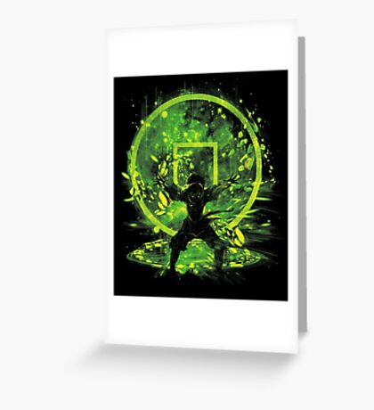 earth storm Greeting Card