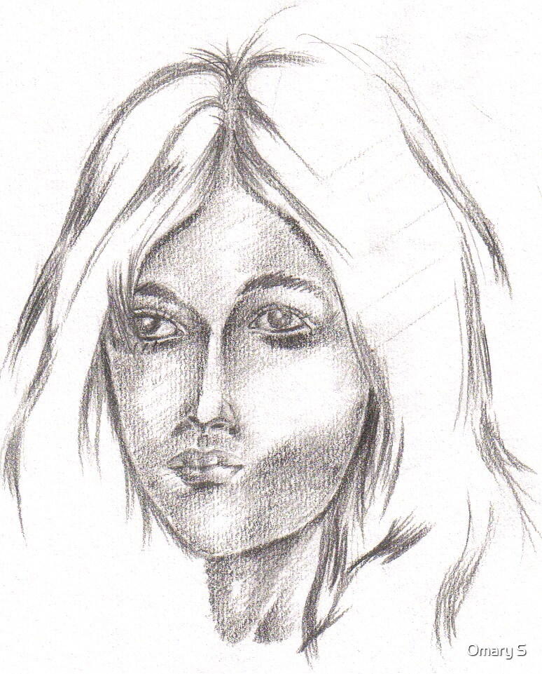 Portrait of woman by Omary S