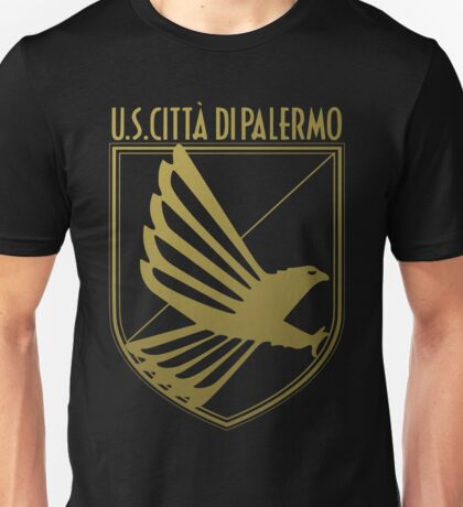 Us Palermo Calcio addicted, golden logo Unisex T-Shirt