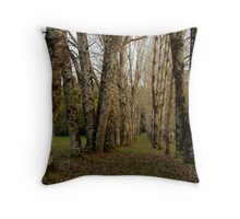Dando's Camp Otway Ranges Throw Pillow