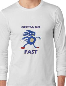 Sanic - Gotta go fast Long Sleeve T-Shirt