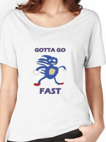 Sanic - Gotta go fast Women's Relaxed Fit T-Shirt