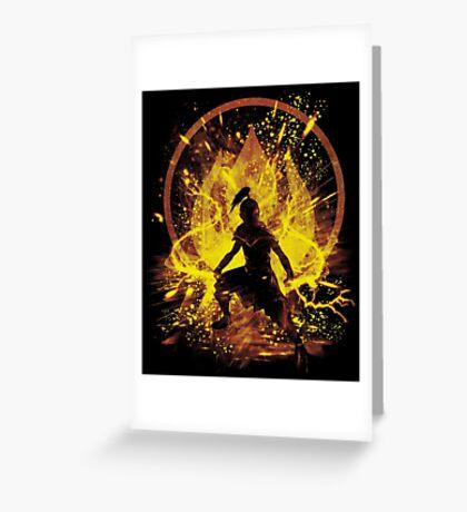 fire prince Greeting Card