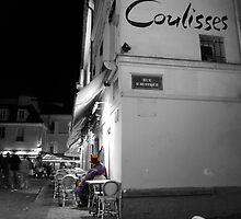 Artist resting at Montparnasse Paris by Andrew Wilson