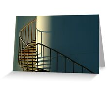 Industrial Storage Tank Greeting Card