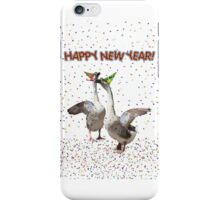 HAPPY NEW YEAR! from the Celebrating Geese iPhone Case/Skin