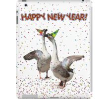 HAPPY NEW YEAR! from the Celebrating Geese iPad Case/Skin