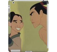 Mulan- Po and Shang iPad Case/Skin