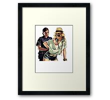 Naughty girl! Framed Print
