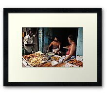 Tiffin time Framed Print