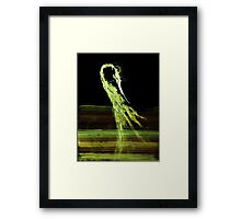 WDV - 517 - Oil and Shine Framed Print