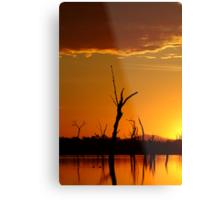 Sunrise Gold, Lake Fyans Grampians  Metal Print