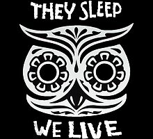 They Sleep We Live by mutinyaudio