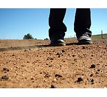 dry earth Photographic Print