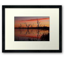 Lake Fyans Grampians Framed Print