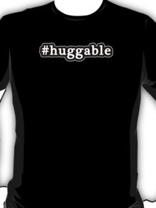 Huggable - Hashtag - Black & White T-Shirt