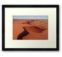 Simpson Desert,N.T. Framed Print