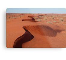 Simpson Desert,N.T. Metal Print
