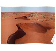 Simpson Desert,N.T. Poster
