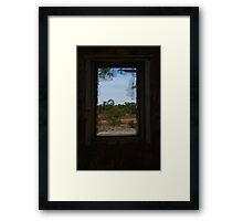 Ruin,Old Cork Station,Outback Queensland Framed Print