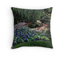 Winery Garden 1 Throw Pillow