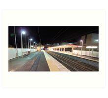 South Brisbane Train Station Art Print