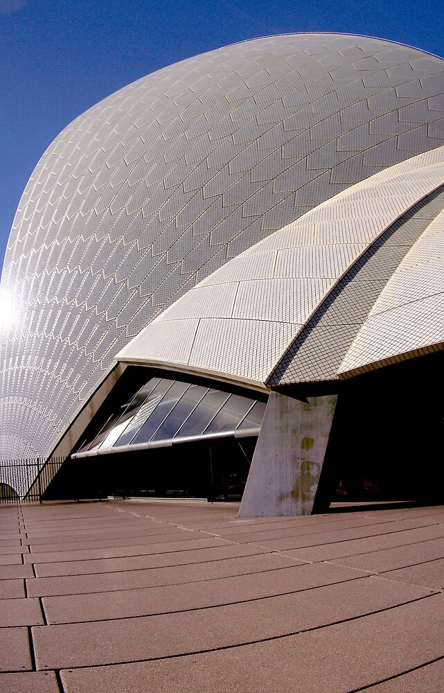 Side of Opera House  by aperture