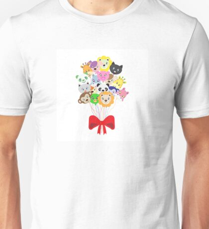 funny balloons colored animals Unisex T-Shirt