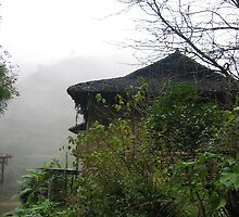 Misty House in South China by mantahay