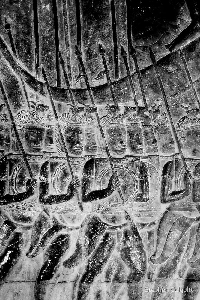 Ancient spearmen by Stephen Colquitt