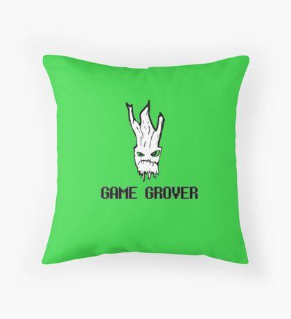 Game Grover... Again Throw Pillow