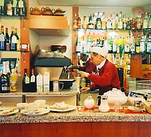 Coffee anyone? Pisa, Italy by Grant Kennedy