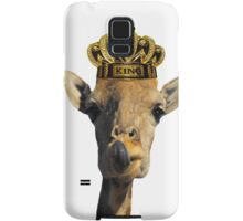 King Giraffe Samsung Galaxy Case/Skin