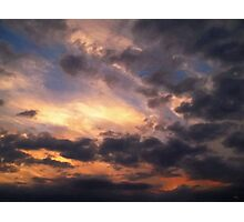 Sky Moods - Depth Photographic Print
