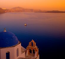 Another Santorini Sunset by RedChevy