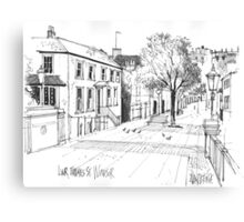 Windsor, England - pen and ink sketch Canvas Print