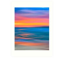 The Sea & Distant Horizons Art Print