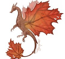 Maple Leaf Dragon by CS-Illustration