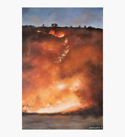 Fire Season I Photographic Print