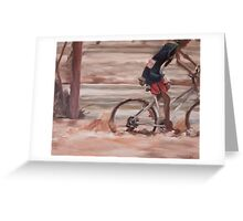 At the River III, Todd River, Alice Springs Greeting Card