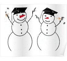 Graduation Day for Snowmen Poster