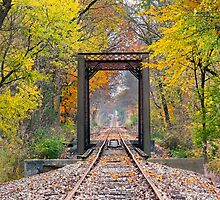 October Rails by Kenneth Keifer