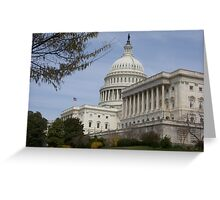 The U.S. Capitol Greeting Card