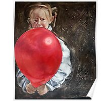 Things Can Go Wrong: Girl with a Red Balloon Poster